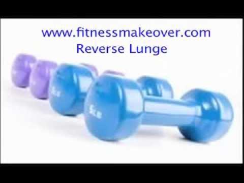 Reverse Lunge Dumbbells